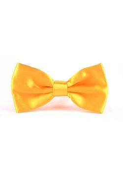 Галстук-бабочка (жёлтый) 12,5*6,5см