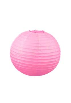 Фонарик бумажный 30*30см розовый