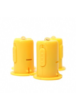 Светодиод 4см для бумажных фонариков (белый свет)