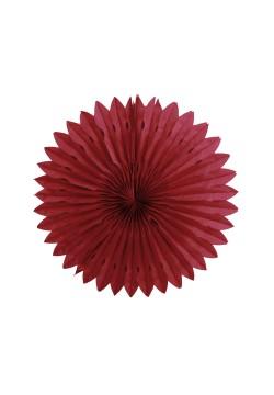 Фант бумажный резной 25см бордовый