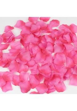 Лепестки роз (150шт) малиново-розовые