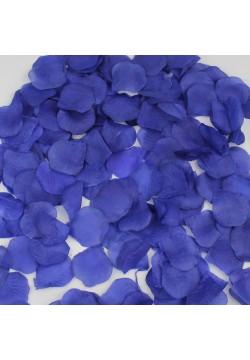 Лепестки роз (300шт) тёмно-синий