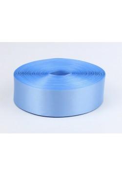 Лента метражом Креп-сатин 5см (голубая)