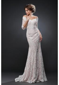 Свадебное платье Грация + юбка атлас