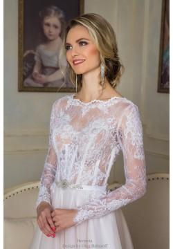 Свадебное платье Встреча (нежная пудра)