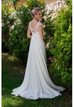 Свадебное платье Мендельсон (пудра)