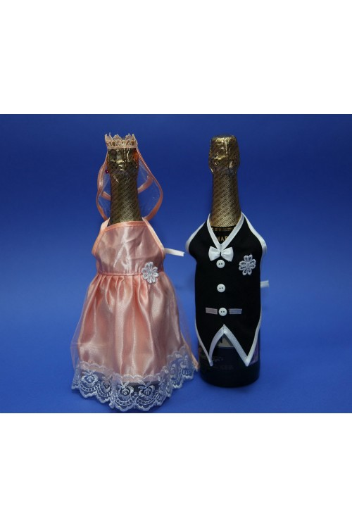 Костюм для шампанского жених и невеста своими руками 20